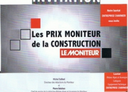 Invitation au prix moniteur de la construction 2013